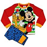 Disney Mickey Mouse Pyjamas Mickey Mouse & Pluto PJs From Age 12 Months to 5 Years