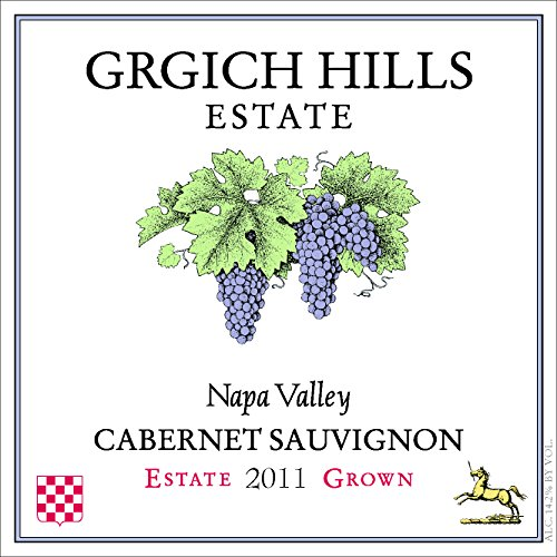 2011 Grgich Hills Estate Napa Valley Cabernet Sauvignon 750 Ml