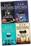 Robert Langdon Series Collection Dan Brown 4 Books Set (Deception Point, etc)