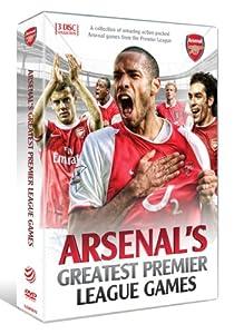 Arsenal Greatest Premier League Games [DVD]
