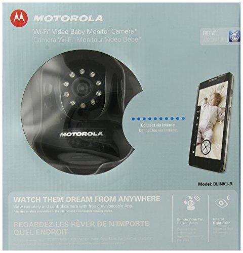 Motorola Wi-Fi Video Camera for Smartphones & Tablets - Black - Blink1