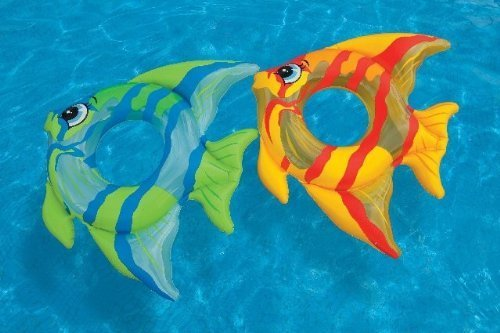 Tropical Fish Pool Rings (Color Orange) by Intex jetzt kaufen