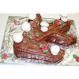 Scott's Cakes Christmas Chocolate Yule Log Large (Tamaño: large)