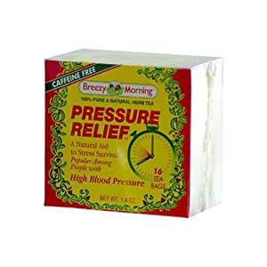 Breezy Morning Pressure Relief Tea 16 Bags