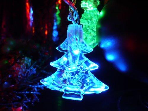Orange Tree Trade Multi Color String Tree Led String Lights; Led Christmas Lights; Party Lights