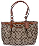 51834LivgTL. SL160  Coach Gallery 12 cm Signature East/West Tote Handbag