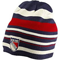 NHL Reebok New York Rangers 2012 Winter Classic Player Beanie - Navy Blue/Red