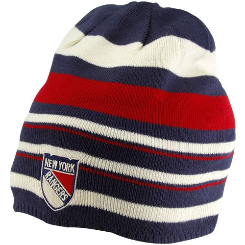 NHL Reebok New York Rangers 2012 Winter Classic Player Beanie - Navy Blue/Red at Amazon.com