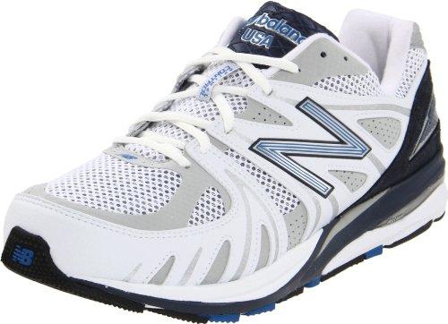 New Balance New Balance Men's M1540 Running Shoe,White/Navy,12 D US