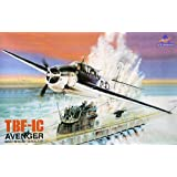 1 48 TBF-1C Avenger USS Block island navy bomber - Plastic model kit by ACE