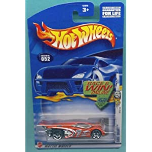Mattel Hot Wheels 2002 1:64 Scale Orange Side Draft Die Cast Car 052