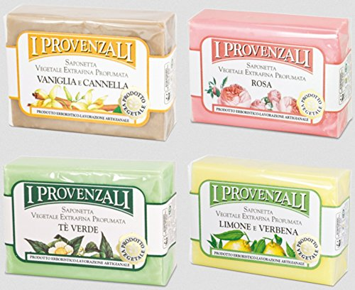 i-provenzali-set-of-four-saponetta-vegetale-vegetable-perfumed-soap-lemon-verbena-green-tea-rose-van