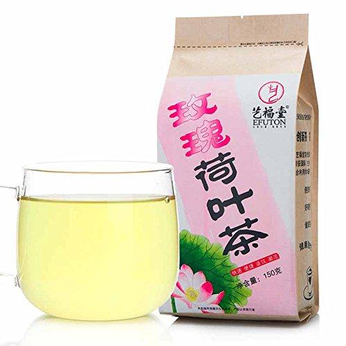 Lotus And Rose Tea Bags 150G Efuton Chinese Natural Organic Flora Herbal Tea Convenient