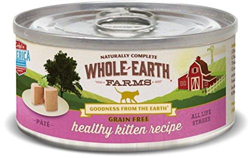 Whole Earth Farms Grain Free Healthy Kitten Recipe (Paté)