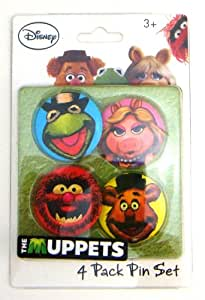 The Muppets Character Button Pin Set
