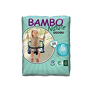 Abena Bambo Nature Premium Baby Diapers, Training Pant , Size 5, 20 Count