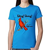 Sufjan Stevens Ding Dong Songs For Christmas Womens T-Shirt Blue