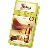 Asbach Uralt Brandy Filled Chocolate Shaped Beans in Small Gift Box - 100g/3.5oz