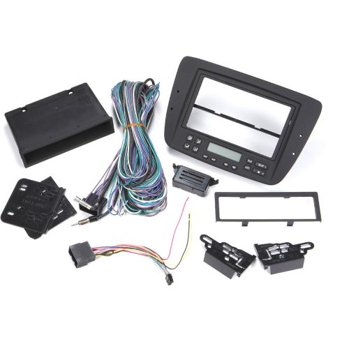 Metra 99-5718 Single Or Double Din Installation Dash Kit For 2000-2003 Ford Taurus -Black