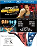 Natural Born Killers / Any Given Sunday / JFK (Triple Feature) [Blu-ray]