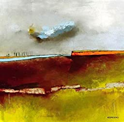 27W x 27H Fascinating Landscape I by Emiliana Cordaro - Stretched Canvas w/ BRUSHSTROKES