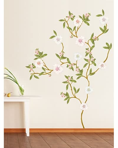 Ambiance Live Vinilo Decorativo Flowering magnolias Multicolor