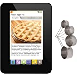 Key Ingredient v2 Recipe Reader, Wifi Refurbished with Stainless Measuring Cup Set