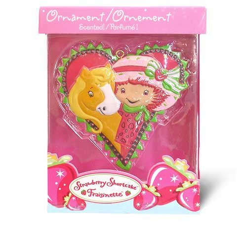 Strawberry Shortcake Christmas Ornament 2005 MIB Heart Shaped - 1