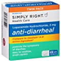 Simply Right Anti-diarrheal Caplets (200 Ct., 2 Pk.)