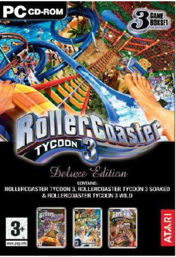 Rollercoaster Tycoon 3 Deluxe (PC DVD)