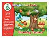 LEAPFROG, IMAGINATION DESK, READING GAMES, INTERACTIVE COLOUR-AND-LEARN ACTIVITY BOOK & CARTRIDGE.