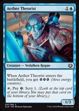 Magic: the Gathering - Aether Theorist (037/264) - Kaladesh - Foil