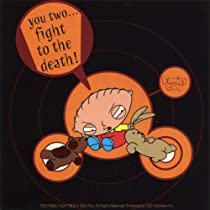 Family Guy - Fight To The Death Decal - Sticker