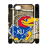 NCAA Basketball Kansas Jayhawks iPhone 4 4s Case Cover at Amazon.com