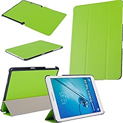 Fulland Samsung Galaxy Tab S2 9.7 Smart Shell Case - Ultra Slim Lightweight Stand Cover with Auto Sleep/Wake Feature for Samsung Galaxy Tab S2 Tablet (9.7 Wi-Fi SM-T810 / LTE SM-T815), Green