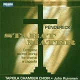 Penderecki;Stabat Mater