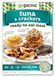 GoPicnic Tuna & Crackers, 6.2 Ounce (Pack of 6)