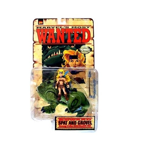 Marvels Most Wanted Spat and Grovel Action Figure