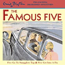 Famous Five: 'Five Go to Smuggler's Top' & 'Five Get into a Fix' (       ABRIDGED) by Enid Blyton