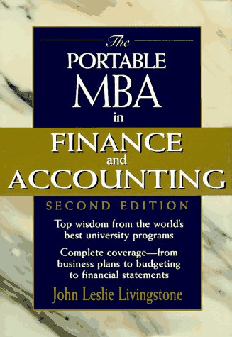 Image for The Portable MBA in Finance and Accounting