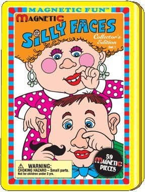 Silly Faces Magnetic Tin Set 1 - 1