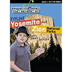 DVD-Explore Yosemite and Zion National Parks with Noah Justice