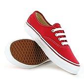 Vans Unisex Classic Authentic Sneakers Red
