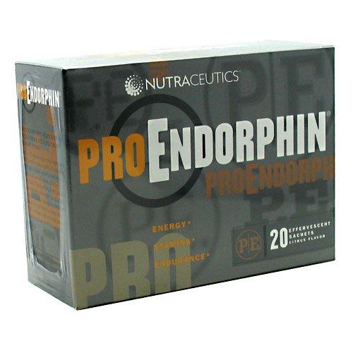 Nutraceutics Proendorphin Citrus - 20 Effervescent Sachets (8 Pack)