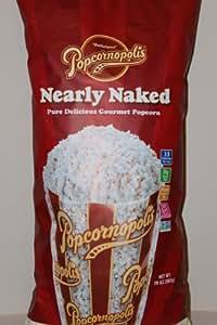 Amazon.com: Popcornopolis Organic Pop Corn Nearly Naked 20