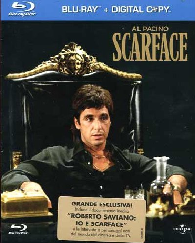 Scarface (+digital copy) [Blu-ray] [IT Import]