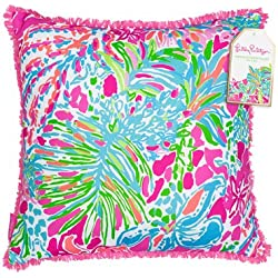 Lilly Pulitzer 162005 Pillow, Large, Spot Ya