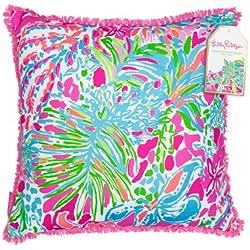 Lilly Pulitzer 162005 Pillow, Large, Spot Ya
