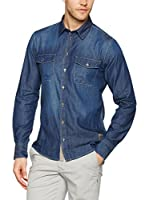 Dekker Camisa Vaquera Fury Denim Patch 15E (Denim)