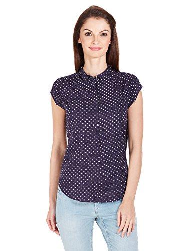 Levi's Women's Button Down Shirt (17692-0000_Deep Well_Medium)
